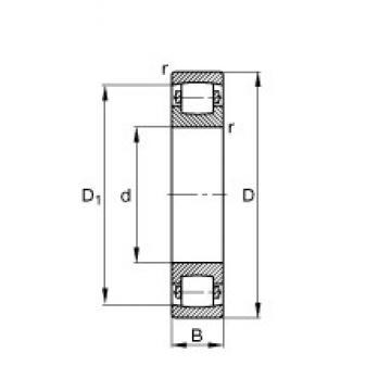 FAG 20317-MB spherical roller bearings