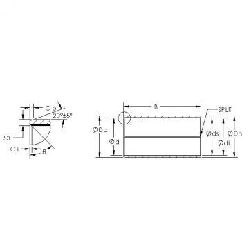 AST AST850SM 5550 plain bearings