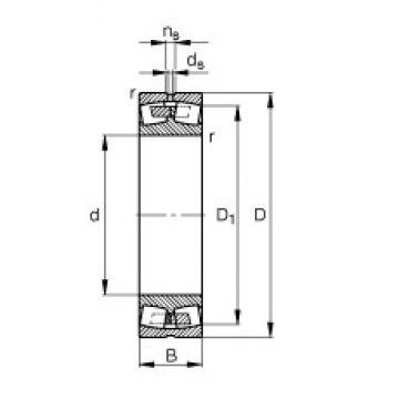 FAG 241/1000-B-MB spherical roller bearings