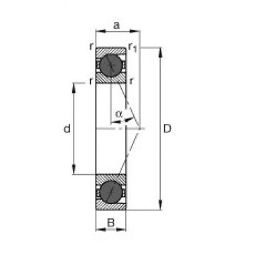 FAG HCB71914-E-T-P4S angular contact ball bearings
