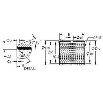 AST AST20 2225 plain bearings