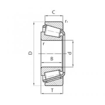 FAG 528942 tapered roller bearings