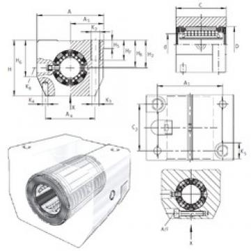 INA KGSNS30-PP-AS linear bearings
