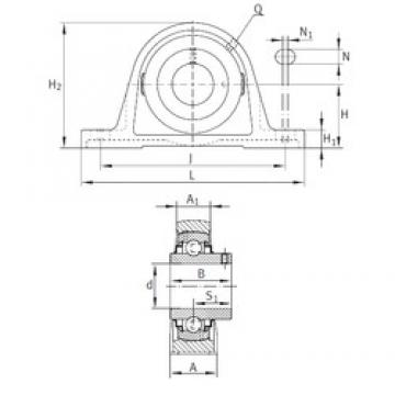 INA RASEY15/16 bearing units