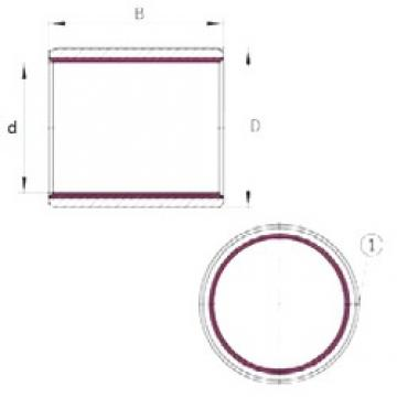 INA EGB5030-E40-B plain bearings