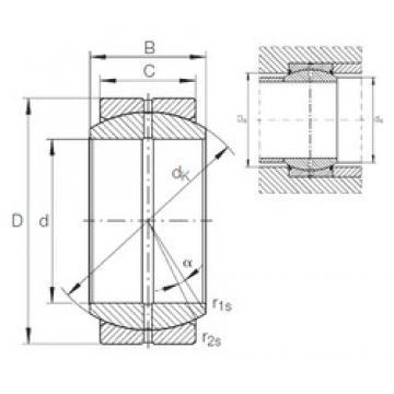 INA GE 17 DO plain bearings