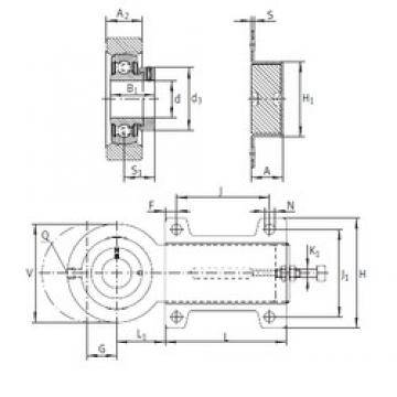 INA PHUSE40 bearing units