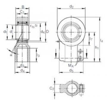 INA GIHN-K 90 LO plain bearings