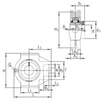 INA TTUE80 bearing units