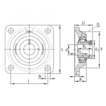 INA RCJ55 bearing units