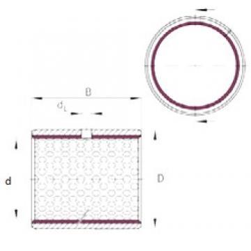 INA EGB2830-E50 plain bearings