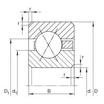 INA CSXD065 deep groove ball bearings