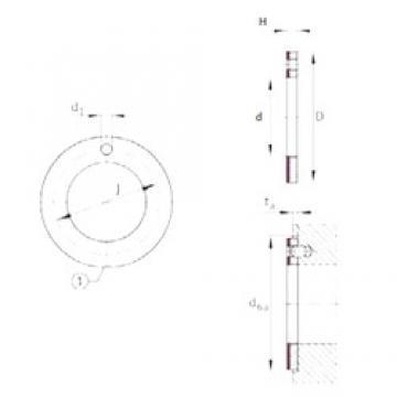 INA EGW10-E40-B plain bearings