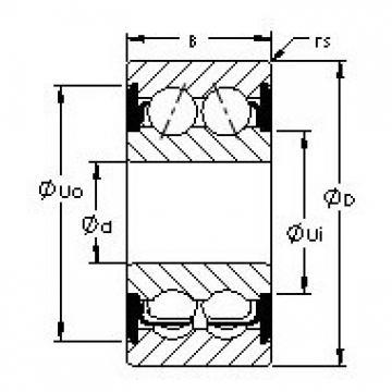AST 5309-2RS angular contact ball bearings