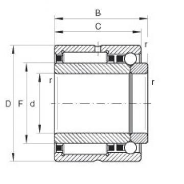 INA NKIB5912 complex bearings