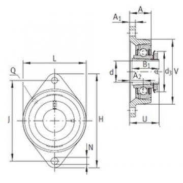 INA RCJTA35-N bearing units