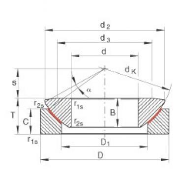 INA GE240-AW plain bearings