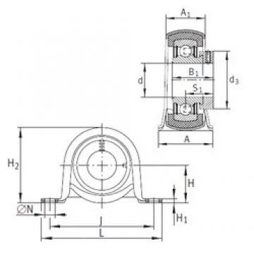 INA RPB12 bearing units