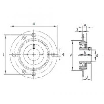 INA RAY15 bearing units
