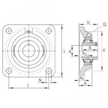 INA RCJY1-3/8 bearing units