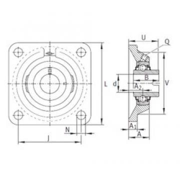 INA RCJL35-N bearing units