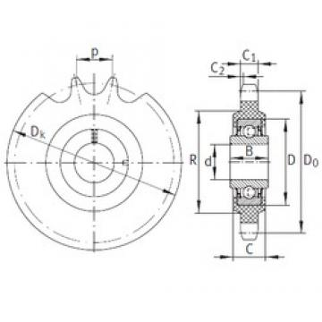 INA KSR16-L0-08-10-16-22 bearing units