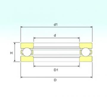 ISB 511/1400 thrust ball bearings