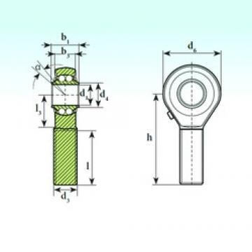 ISB TSM 20 BB self aligning ball bearings