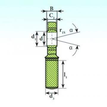 ISB SA 30 C plain bearings