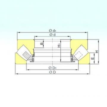 ISB 293/710 M thrust roller bearings