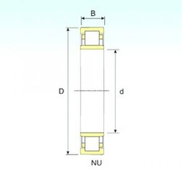 ISB NU 2344 cylindrical roller bearings