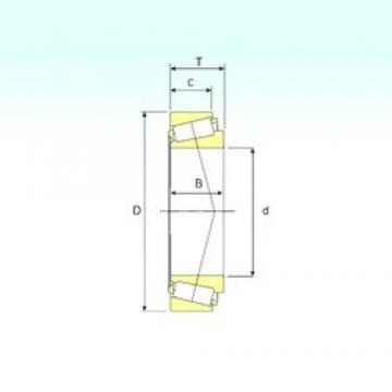 ISB KEE234160/K234215 tapered roller bearings