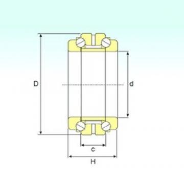 ISB 234422 thrust ball bearings