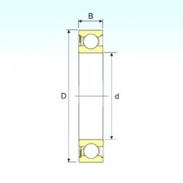 ISB 6301-RS deep groove ball bearings
