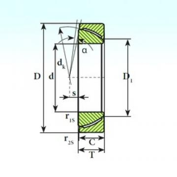 ISB GAC 300 CP plain bearings