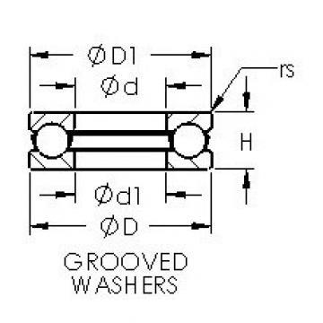 AST 51117 thrust ball bearings