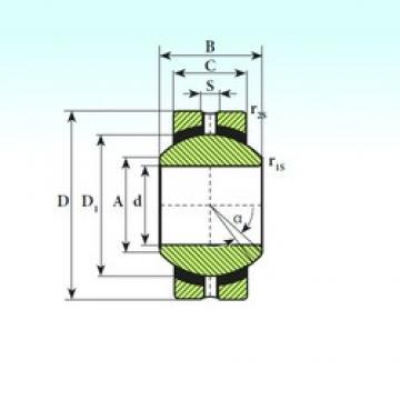 ISB SSR 8 plain bearings