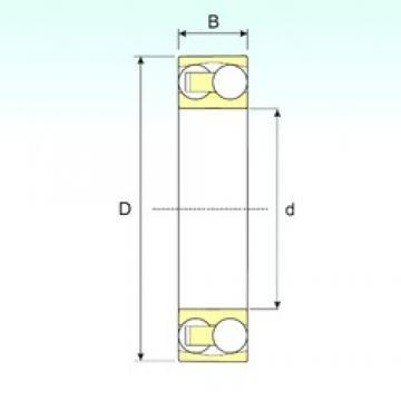 ISB 2212 TN9 self aligning ball bearings