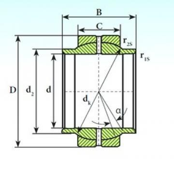 ISB GEEW 17 ES plain bearings