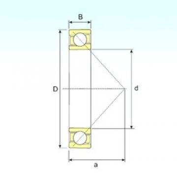 ISB 7218 B angular contact ball bearings