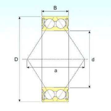 ISB 3310-2RS angular contact ball bearings