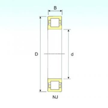 ISB NUP 213 cylindrical roller bearings