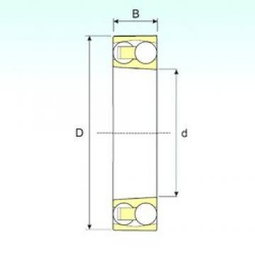 ISB 2308 KTN9 self aligning ball bearings