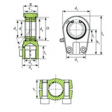 ISB TAPR 525 U plain bearings