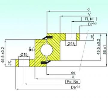 ISB NBL.20.0644.200-1PPN thrust ball bearings
