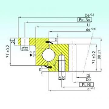 ISB ZBL.30.1055.200-1SPTN thrust ball bearings