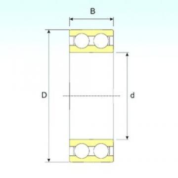 ISB 4207 ATN9 deep groove ball bearings