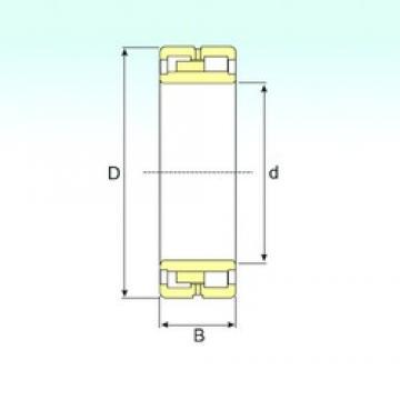 ISB NNU 4172 K30M cylindrical roller bearings