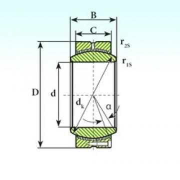 ISB GE 440 CP plain bearings