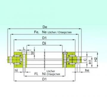 ISB YRT 180 thrust roller bearings